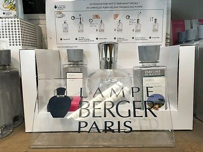 LAMPE BERGER XL Starterset Rund Parfüm Duft Gardens on the Riviera Neu!