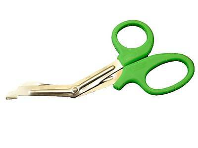 High Quality TUFF CUT Scissors - First Aid Crepe Cut Green