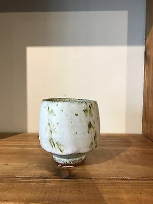 Phil Rogers Welsh Studio Pottery Yunomi Cup Tennoku