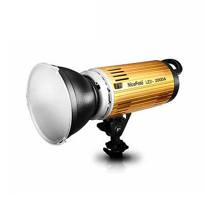Nicefoto LED-2000A 200W 3200-7500K Studio Photo Video Light  with Remote Control