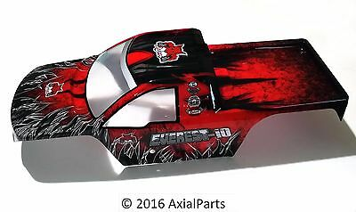 Redcat R180-R 1/10 Scale Everest 10 AX10 Red Rock Crawler Truck Body RTR Version