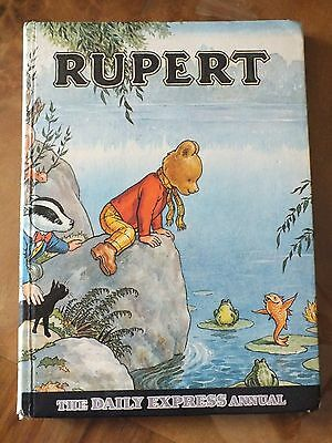 Vintage Rupert Annual 1969  Good Condition