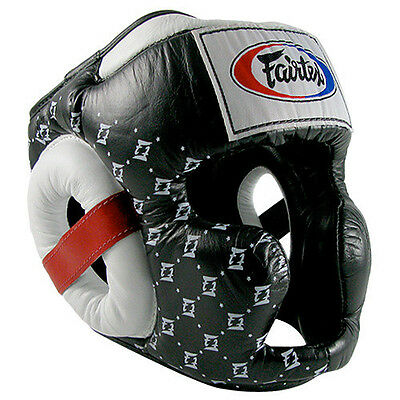 Fairtex Head Guard Full Face Hg10 Muay Thai Boxing Mma Sparring Aus Stock