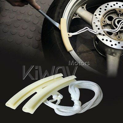 Clearence! Wheel Rim Protector for Motorcycle Scooter Bike repair tool