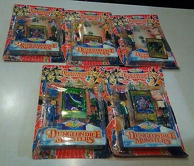 Yu-Gi-Oh Dungeon Dice Monsters 1st Edition C Lot of 5 New Sealed Item 9370-D