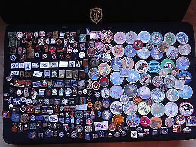 Soviet Pin Collection (255 items)