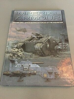 Imperial Armour - Volume 2 - Marines & Inquisition - Warhammer 40k - Forgeworld