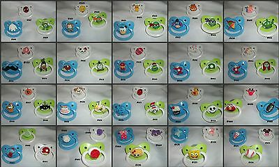 New Large Character Pacifier CUSTOM MADE RESIN PACIFIERS anonymous listing #2