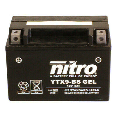 Batterie Adly Interceptor 300  Bj. 2010 Nitro YTX9-BS