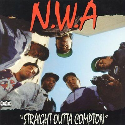 N.W.A. NWA - STRAIGHT OUTTA OUT OF COMPTON VINYL 180g LP RE-ISSUE NEW SEALED