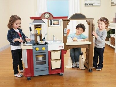 Little Tikes Cook 'n' Dine Bistro Kitchen, Role Play Toys, Toy Kitchens