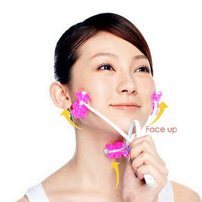 Face Relax Roller Up Massage Face Slimming Remove Chin Neck Beauty Massager Tool