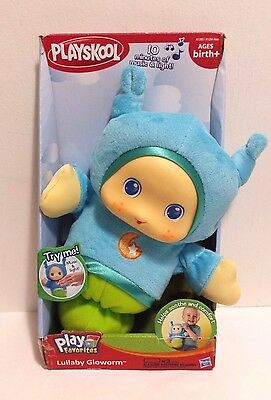 NEW Playskool Lullaby Gloworm Musical Light Up Hasbro 2012 Blue