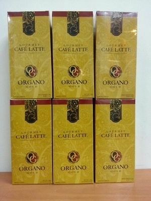 HURRY BUY !!! 6 Box Organo Gold Gourmet Cafe Latte Free Delivery