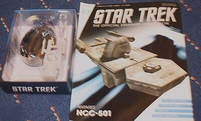 Star Trek Eaglemoss Ship Issue 63 Antares With Magazine