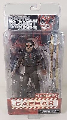 """Dawn of the Planet of the Apes - Caesar 7"""" Action Figure - Series 1 (New/Sealed)"""