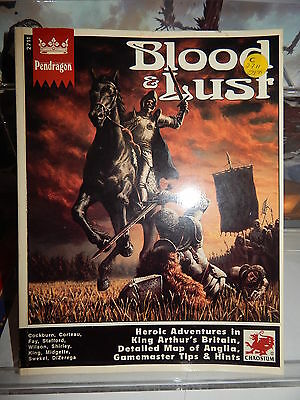 Chaosium # 2711 Blood & Lust for Pendragon rpg