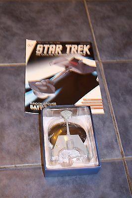 Star Trek issue 67 Klingon Battlecruiser with Magazine Eaglemoss LE