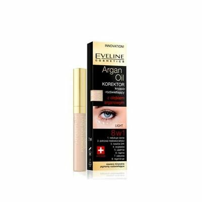 Eveline Eye Concealer with Argan Oil 8in1 7ml - Light