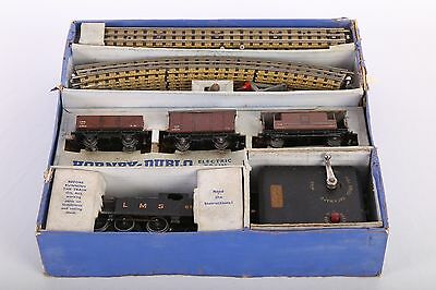 Hornby Dublo EDG7 LMS Electric goods train set vintage collectable WORKING