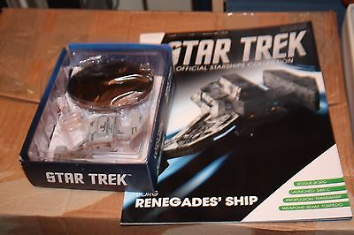 Star Trek Eaglemoss Ship Issue 73 Borg Renegades With Magazine
