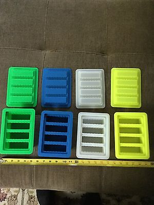 Butter Mold, Silicone 4 stick total with top