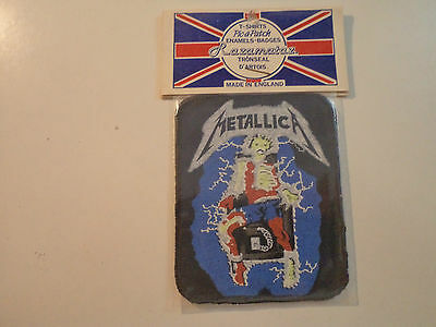Vintage  METALLICA  80s Unused PATCH  metal thrash slayer anthrax exodus t shirt