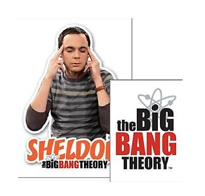 The Big Bang Theory Keyring Keychain Sheldon new Official Acrylic One Size