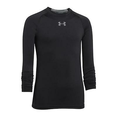 Under Armour Longsleeve Shirt Kids Schwarz F001
