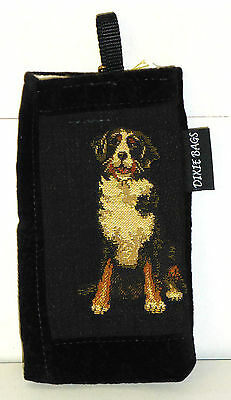 "Greater Swiss Mt. Dog Quality Tapestry 7"" x 3 1/2"" Eyeglass/Sunglass Case, USA"