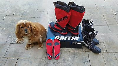 Baffin 3-PIN Guide Pro Cross Country Skiing Boots SIZE 11 - MINT CONDITION