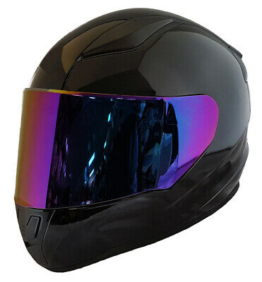 Helmet Visor / Chromatic Purple / Shades Visor Insert / Made UK