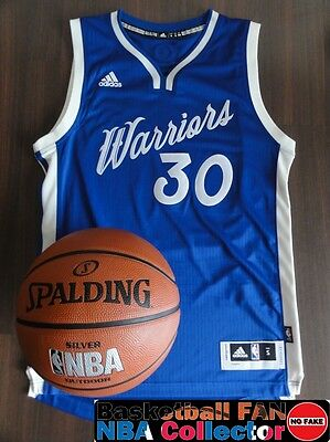 Maillot / Jersey Adidas Swingman NBA Golden State XMas Stephen Curry Size S