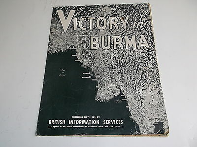 Victory in Burma, British Information Services, July 1945