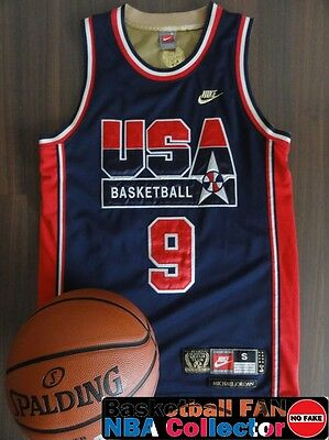 Maillot / Jersey Nike Michael Jordan Dream Team 92 Gold Edition Size S