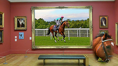 FRANKEL Goodwood 19 x 13 print bloodstock gift Him Her Mum Dad horse equine