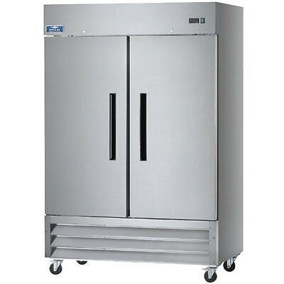 Arctic Air AF49 Commercial Double Two Door Reach In Freezer NSF Approved