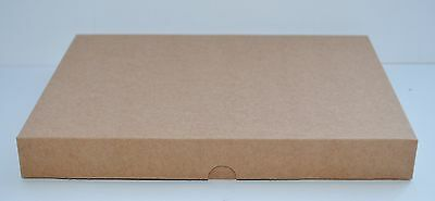 Brown Vintage Kraft Greeting Card Gift Boxes Wedding Favours DVDs A5 x 5