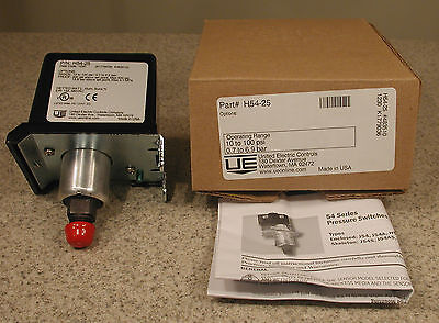 United Electric Controls H54-25 Pressure Switch New