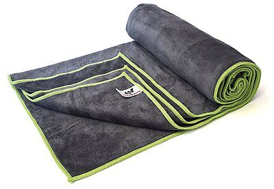 Best Sports Towel by Sport2People - Compact Microfibre Yoga Towel - Quick Dry S