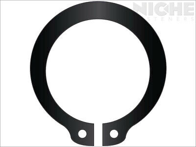 Snap Retaining Ring External Heavy Duty 1-1/2 Steel Phos (30 Pieces)
