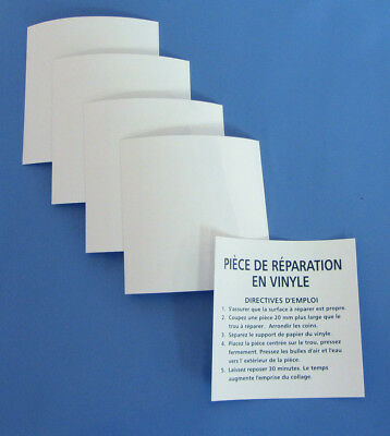 "Swimming Pool Vinyl Repair Self Adhesive Patch 3""x3"" - 5 pack"