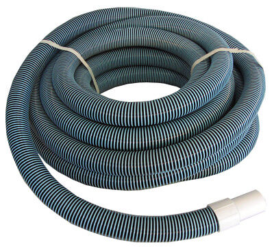 "Swimming Pool Commercial Grade Vacuum Hose 1.5""- 40' length with Swivel End"