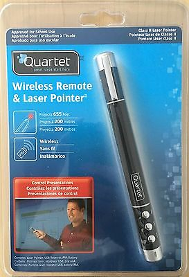 Quartet Wireless Remote & Class 2 Laser Pointer