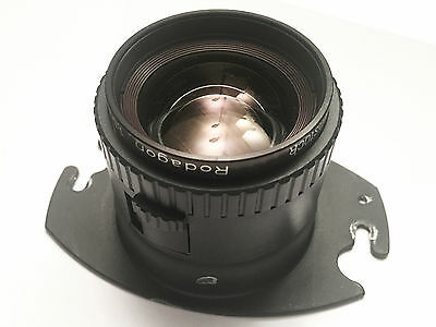 Rodenstock 135mm f5.6 Rodagon Enlarging Lens w/Omega D Adapter FLAWLESS GLASS!