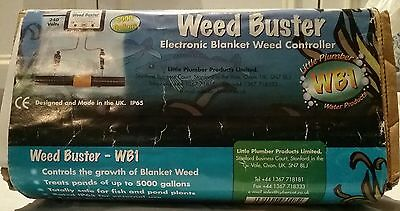 Weed Buster . Electronic blanket weed controller .