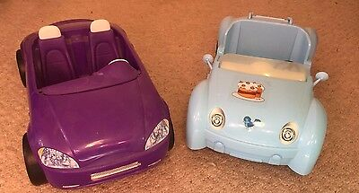 Barbie Doll Sports Cars x 2 Kids Toy Great Gift Bundle Barbie Cars