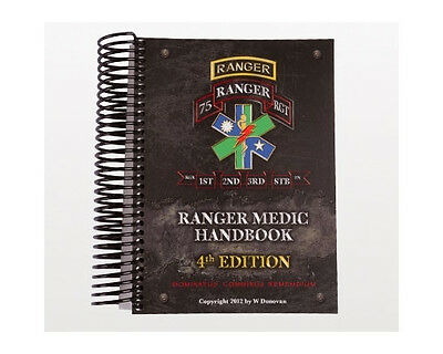 Ranger Medic Handbook - 4Th Edition (80-0055)