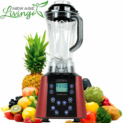 New 3.5Hp Digital Touch Pro Commercial Fruit Smoothie Blender Juice Mixer %