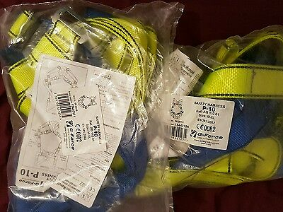 safety harness p-10 brand new (2 pieces)